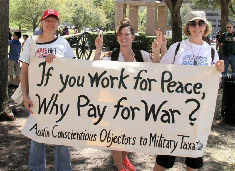 American Socialist - Cindy Sheehan: If You Work For Peace, Why Pay For War?